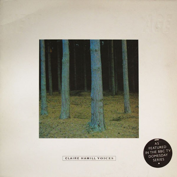 Album cover for Claire Hamill's Voices.